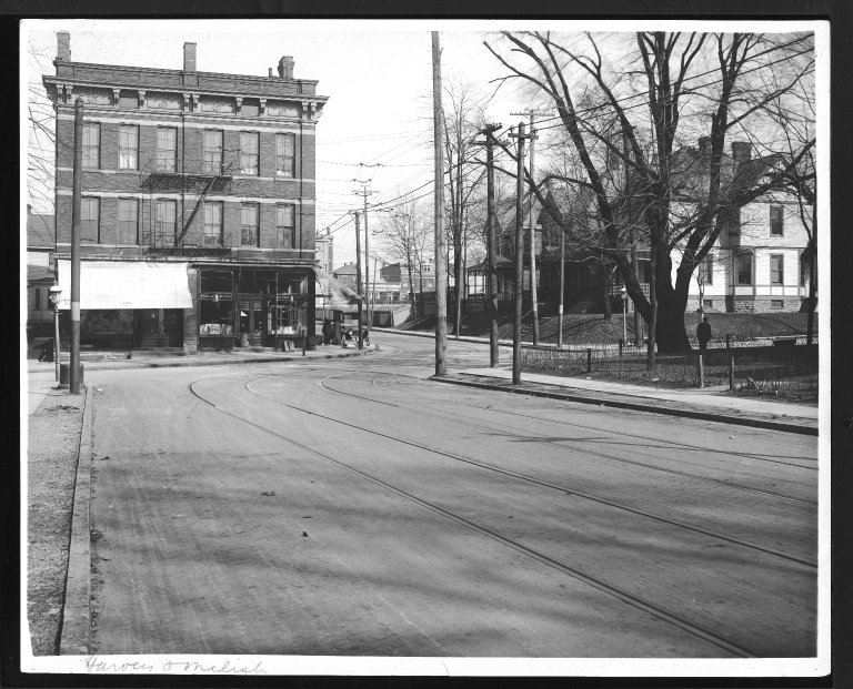 Street Improvement Photographs -- Box 24, Folder 14 (Harvey Avenue) -- print, 1928