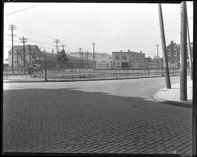 Street Improvement Photographs -- Box 31, Folder 18 (Bank Street) -- negative, 1928