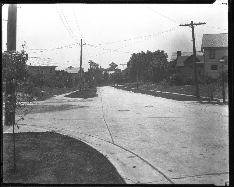 Street Improvement Photographs -- Box 31, Folder 19 (Banty Avenue) -- negative, 1928