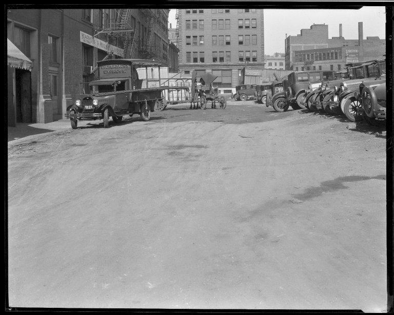 Street Improvement Photographs -- Box 33, Folder 03 (West Cheapside Street) -- negative, 1929