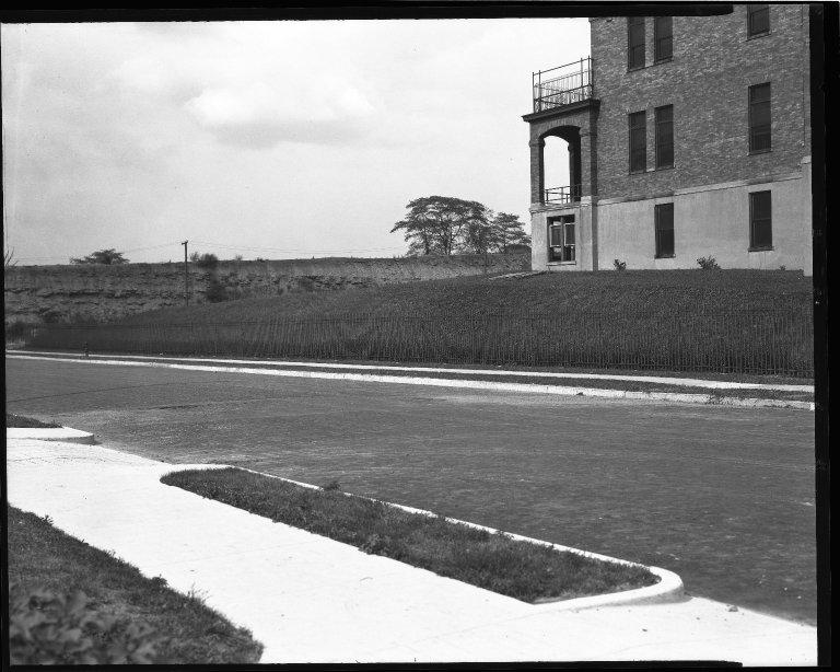 Street Improvement Photographs -- Box 34, Folder 27 (Eden Avenue) -- negative, 1929