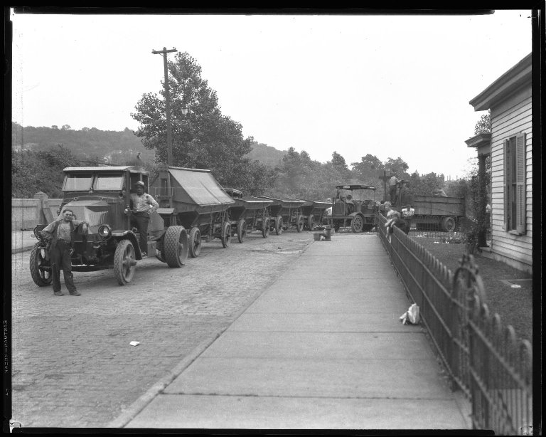 Street Improvement Photographs -- Box 36, Folder 30 (Grandin Road Viaduct) -- negative, 1930