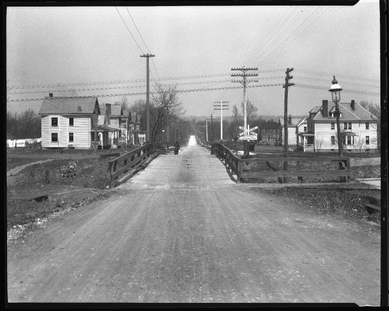 Street Improvement Photographs -- Box 43, Folder 07 (Paxton Avenue) -- negative, 1930