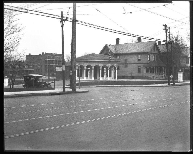 Street Improvement Photographs -- Box 43, Folder 50 (Reading Road) -- negative, 1927