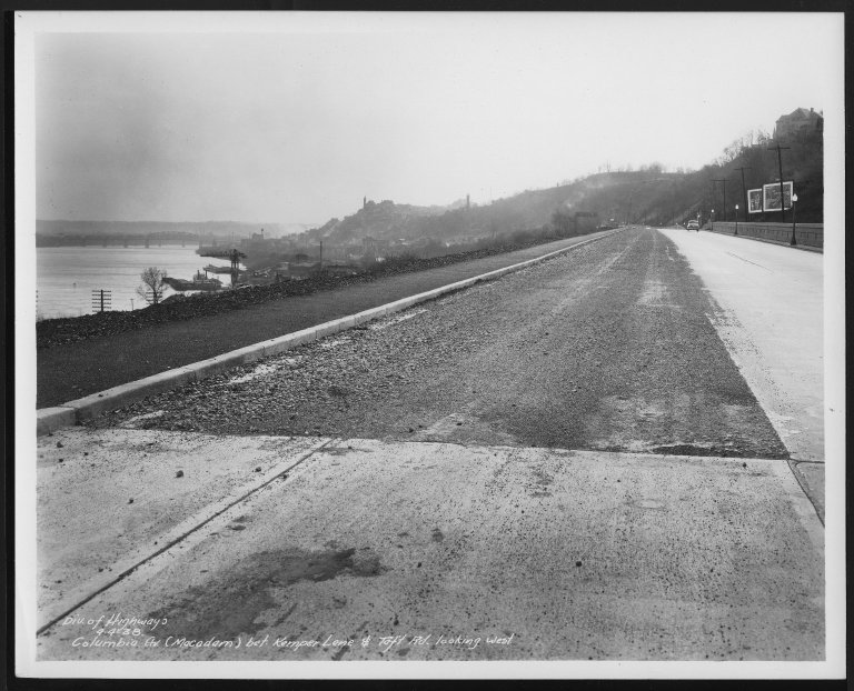 Street Improvement Photographs -- Box 48, Folder 32 (April 4, 1938 - May 20, 1938) -- print, 1938-04-04