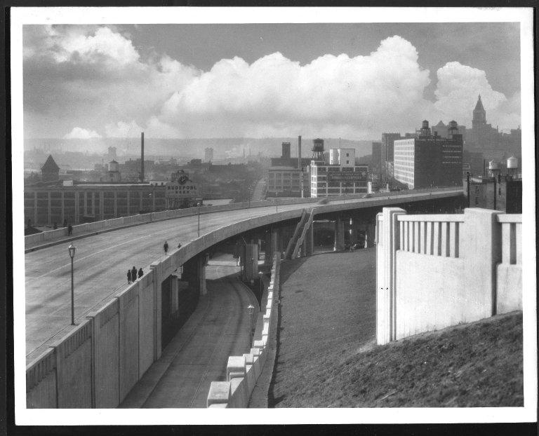 Street Improvement Photographs -- Box 48, Folder 37 (1938) -- print, 1938