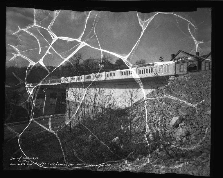 Street Improvement Photographs -- Box 50, Folder 09 (November 6, 1936 - December 4, 1936) -- negative, 1936-11-30