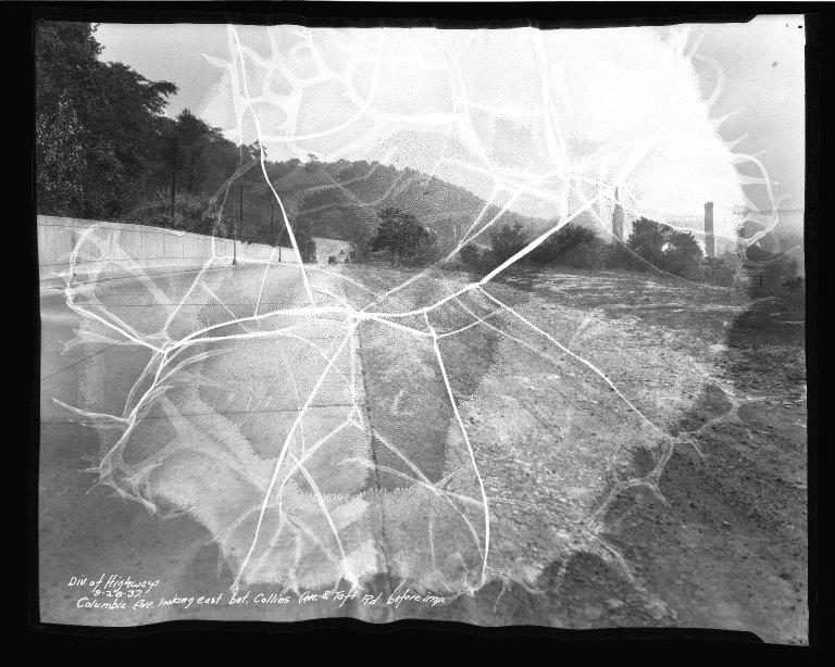 Street Improvement Photographs -- Box 50, Folder 16 (September 24, 1937 - September 28, 1937) -- negative, 1937-09-28
