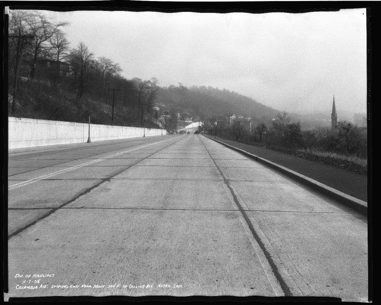 Street Improvement Photographs -- Box 50, Folder 26 (November 6, 1938 - November 7, 1938) -- negative, 1938-11-07