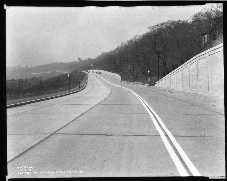 Street Improvement Photographs -- Box 50, Folder 27 (November 15, 1938 - November 21, 1938) -- negative, 1938-11-16
