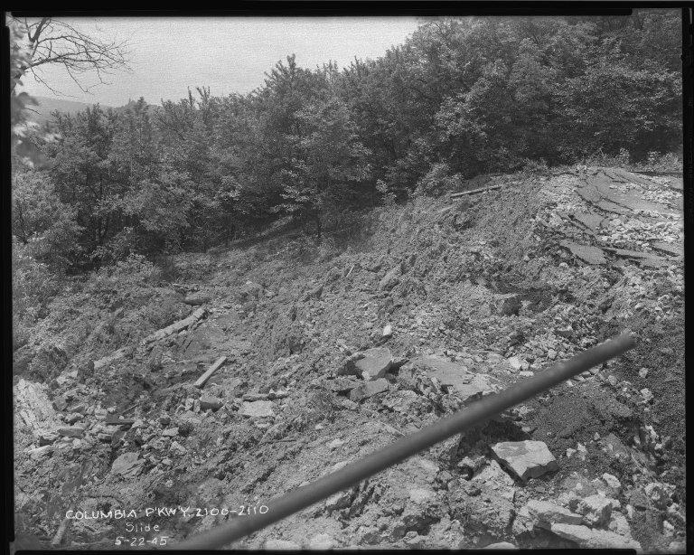Street Improvement Photographs -- Box 50, Folder 32 (May 22, 1945 - September 26, 1945) -- negative, 1945-05-22