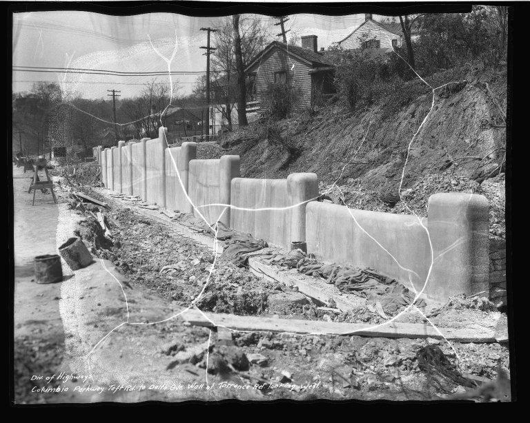 Street Improvement Photographs -- Box 50, Folder 40 (Undated) -- negative, 1937