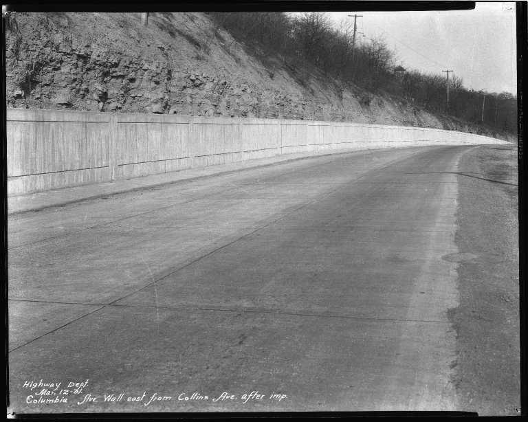 Street Improvement Photographs -- Box 51, Folder 03 (October 10, 1930 - December 27, 1932) -- negative, 1931-03-12