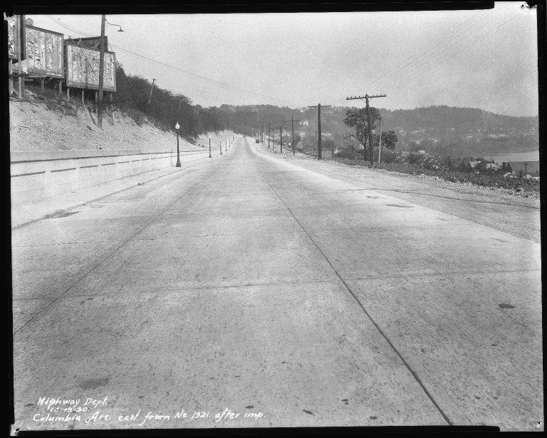 Street Improvement Photographs -- Box 51, Folder 03 (October 10, 1930 - December 27, 1932) -- negative, 1930-10-19