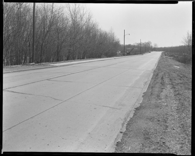 Street Improvement Photographs -- Box 52, Folder 08 (Undated) -- negative, 1954