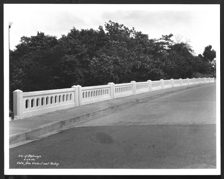 Miscellaneous Photographs -- Box 53, Folder 11 (Bridges) -- print, 1933-06-29