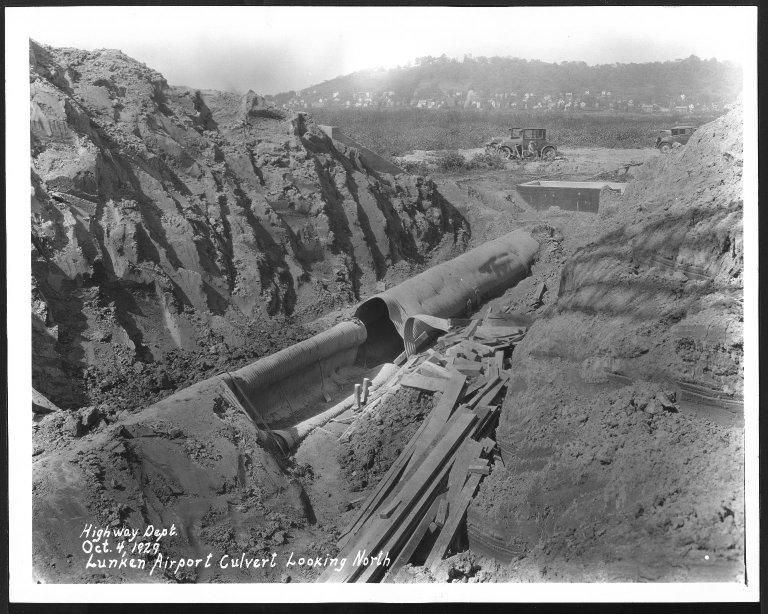 Miscellaneous Photographs -- Box 53, Folder 25 (Lunken Airport - April 29, 1929 - October 4, 1929) -- print, 1929-10-04