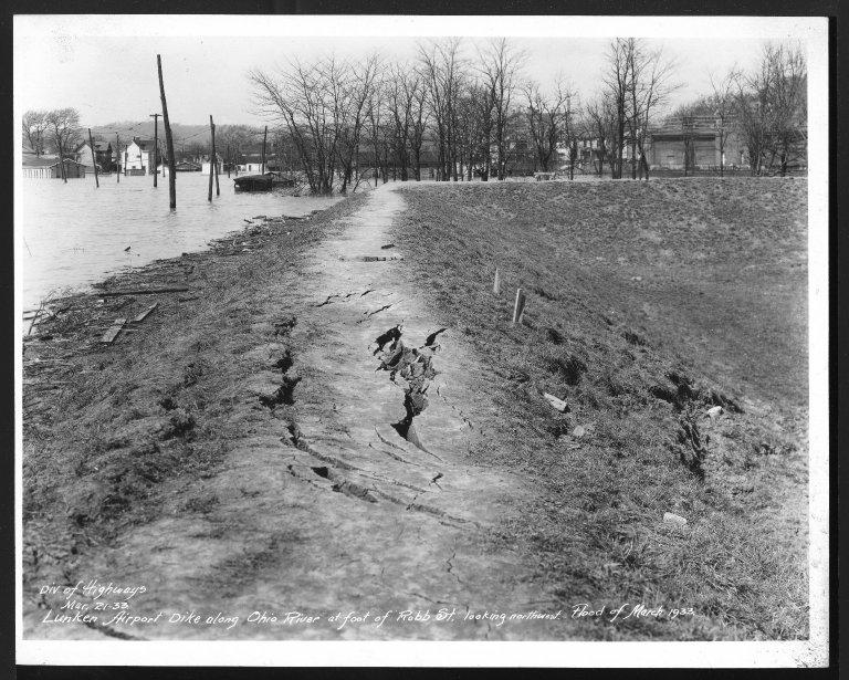Miscellaneous Photographs -- Box 53, Folder 27 (Lunken Airport - January 1, 1933 - March 24, 1933) -- print, 1933-03-21