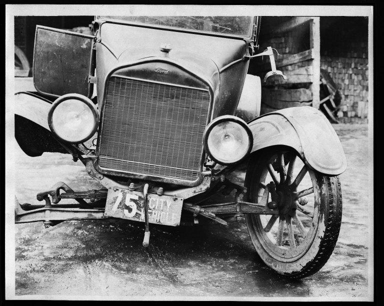 Miscellaneous Photographs -- Box 53, Folder 32 (Model T. Ford 1921) -- print, 1921