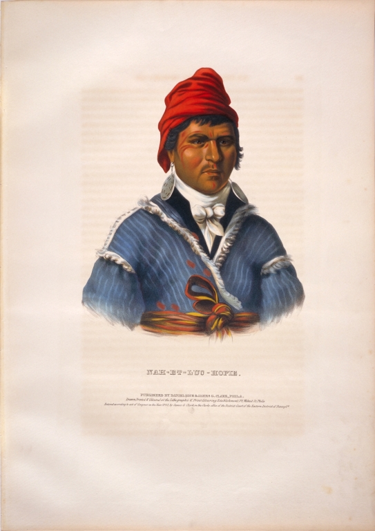 [History of the Indian Tribes of North America, Nah-et-luc-hopie]