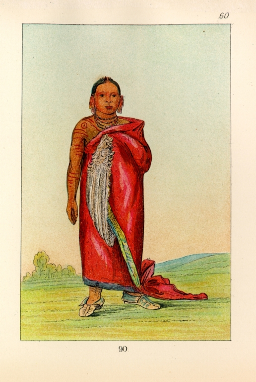 [The Manners, Customs, and Condition of the North American Indians., Great Chief, son of The Smoke]