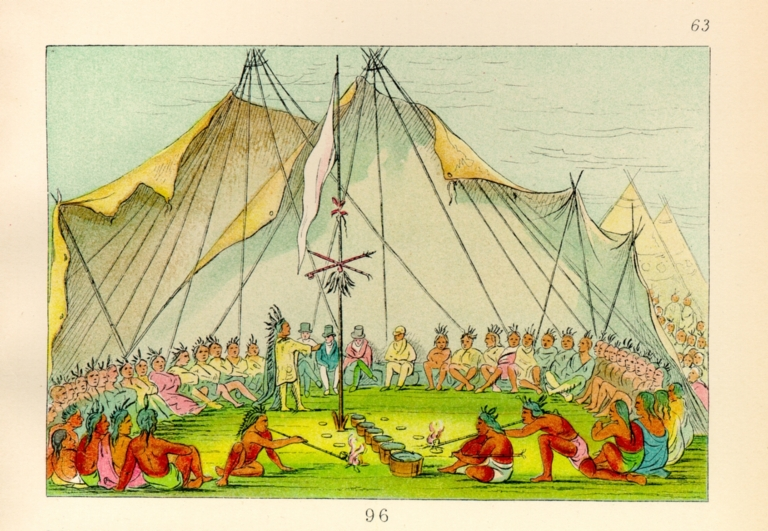 [The Manners, Customs, and Condition of the North American Indians., Sioux Dog Feast]