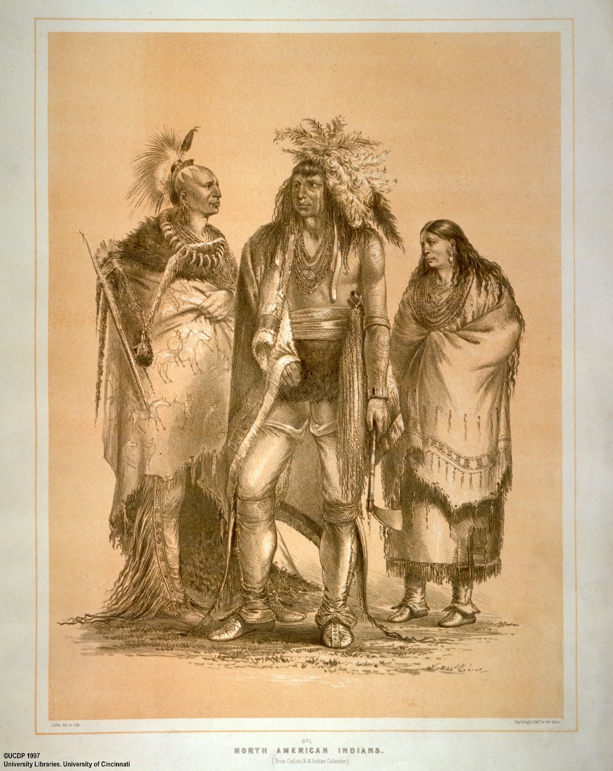 Catlin's North American Indian Portfolio. Hunting Scenes and Amusements of the Rocky Mountains and Prairies of America.