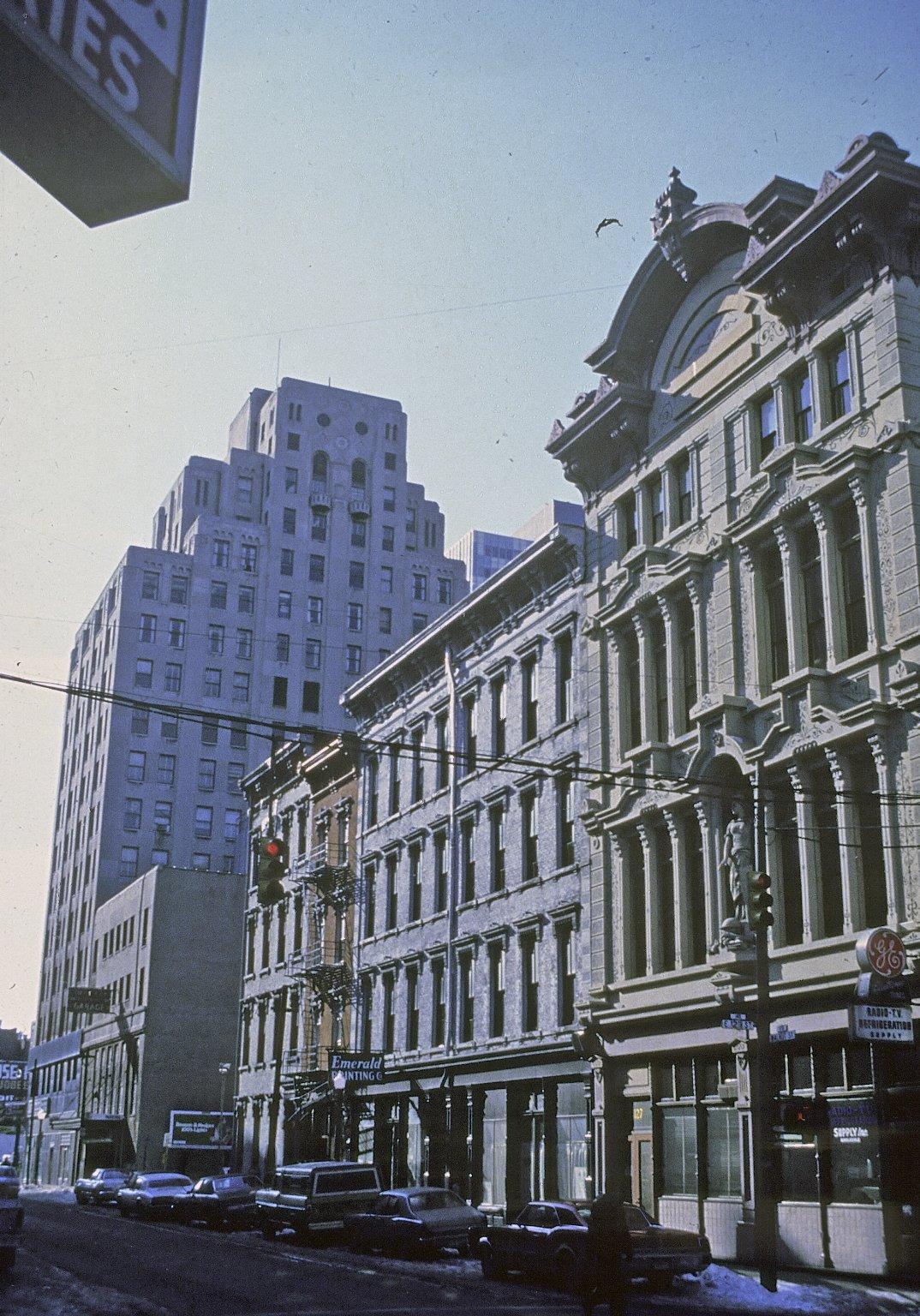 Walnut Street, Over-the-Rhine, Cincinnati, Ohio