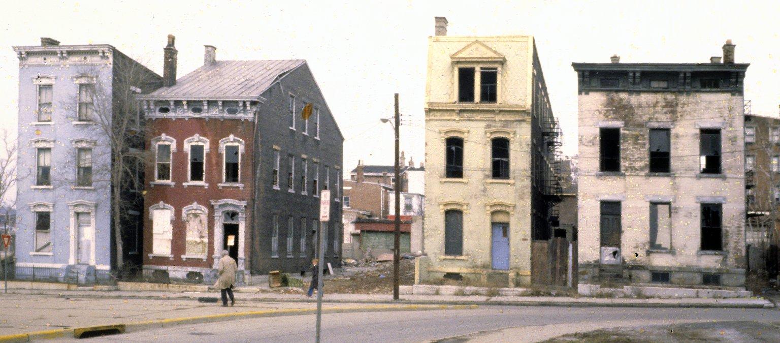 1108-1116 York Street, West End, Cincinnati, Ohio