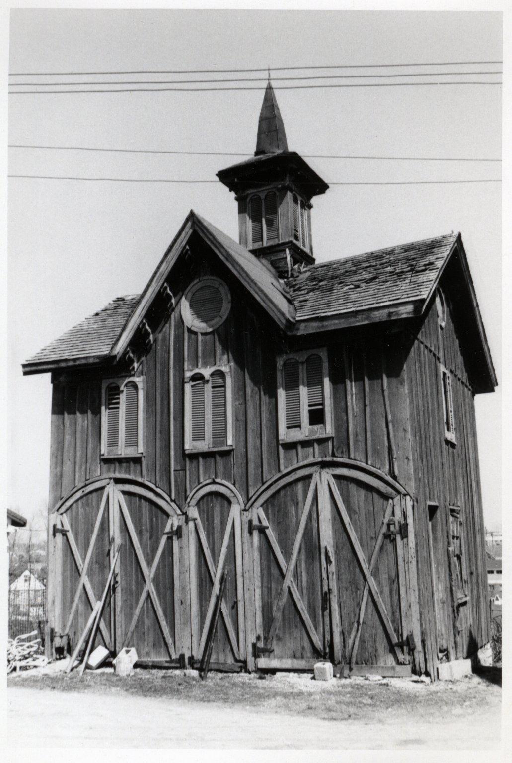 Board and Batten Gothic Barn on Colerain Avenue