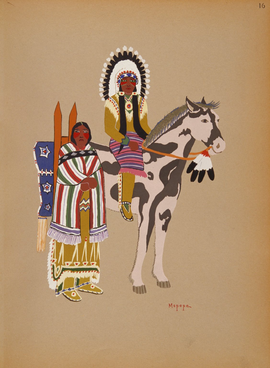Kiowa Warrior and Wife