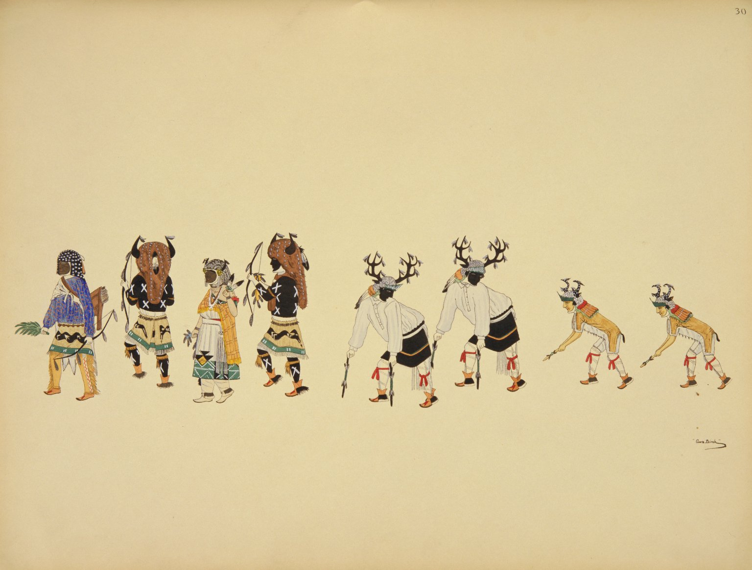 Hunters' or Deer Dance