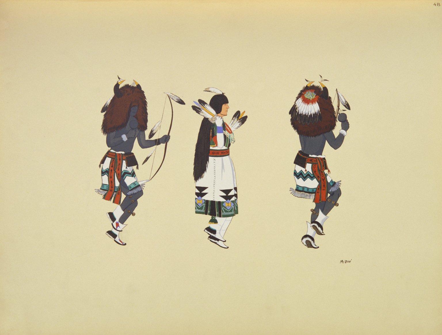 Buffalo Dance Figures
