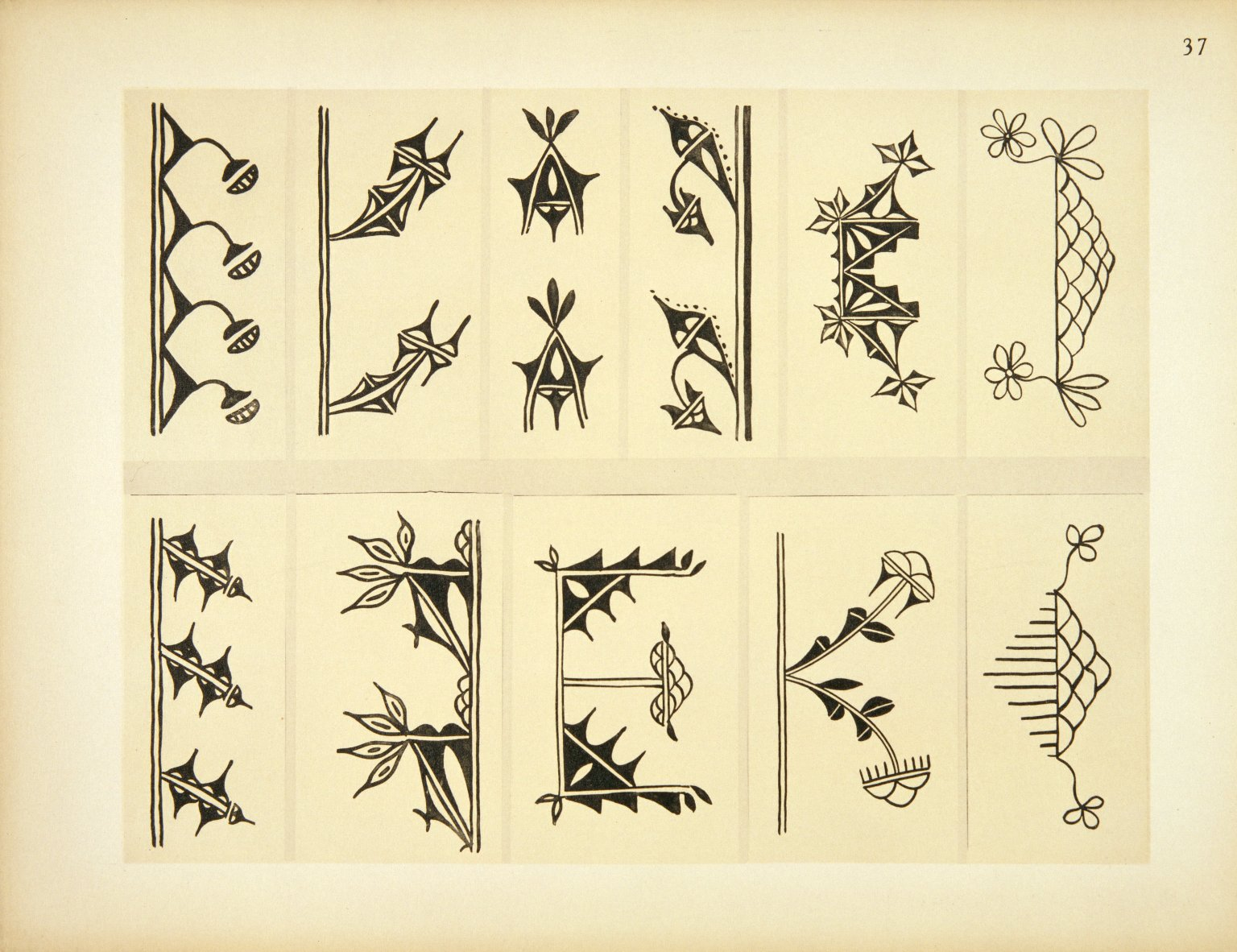 Typical Designs from Antique Pottery