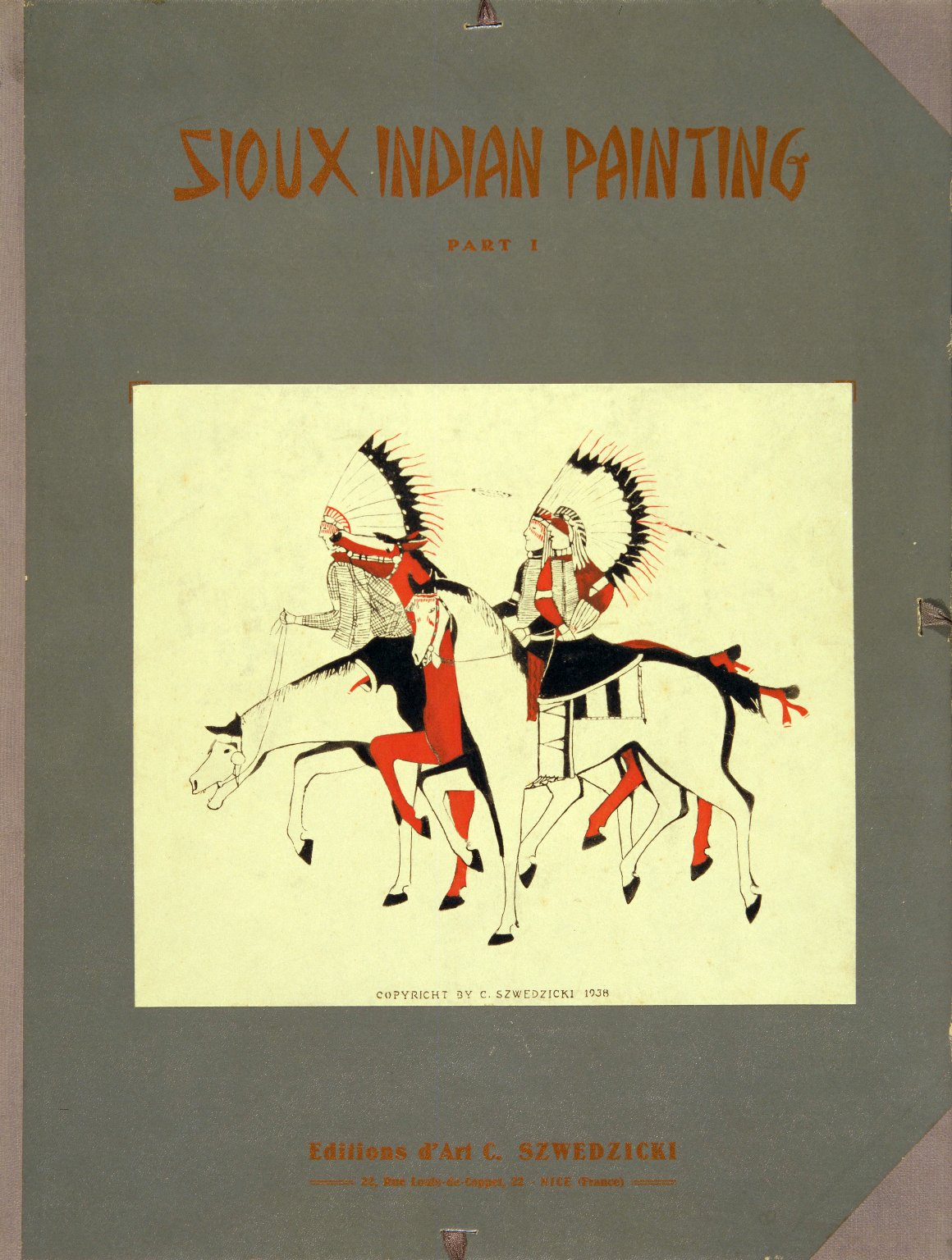 Sioux Indian painting