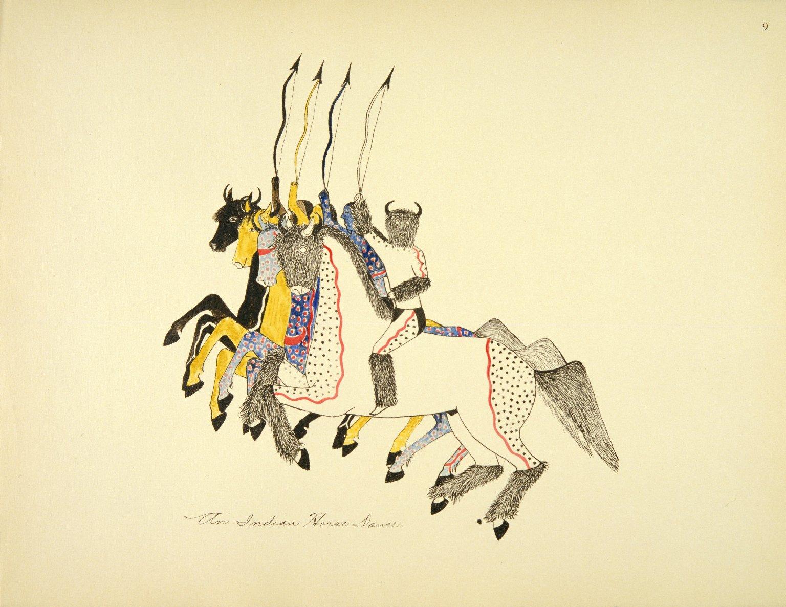An Indian Horse Dance