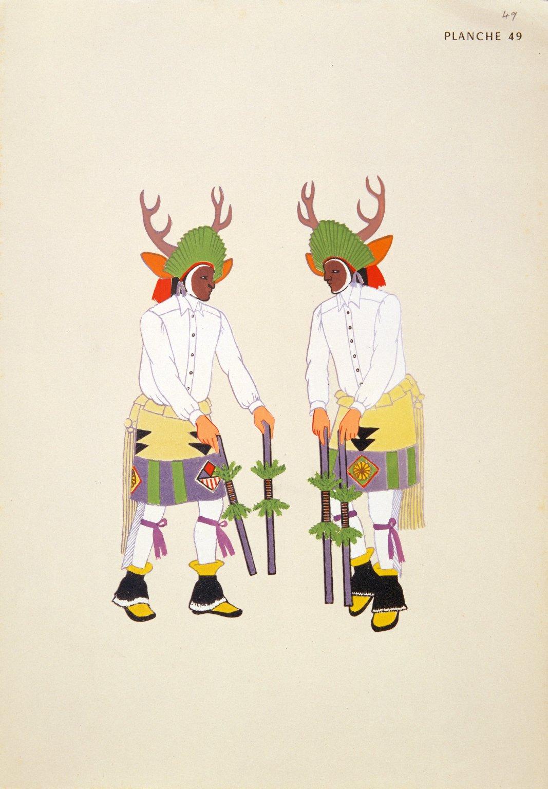 Two Deer Dancers