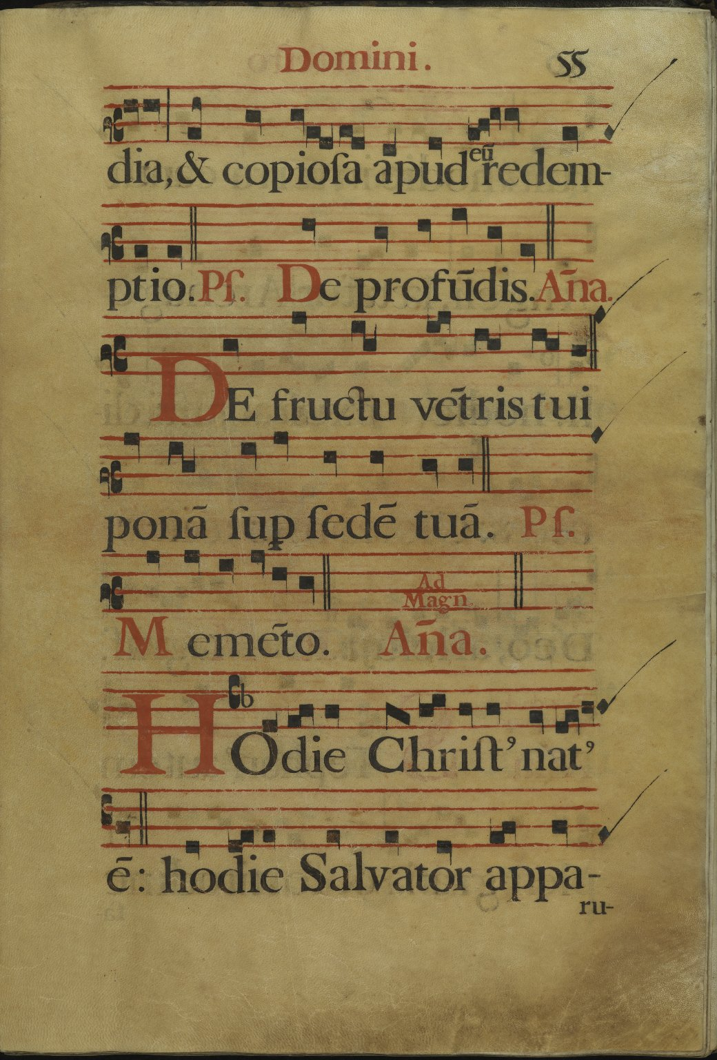 The Spanish Antiphoner. Page 55