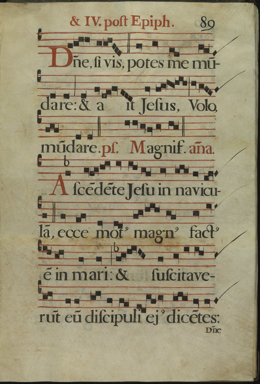 The Spanish Antiphoner. Page 89