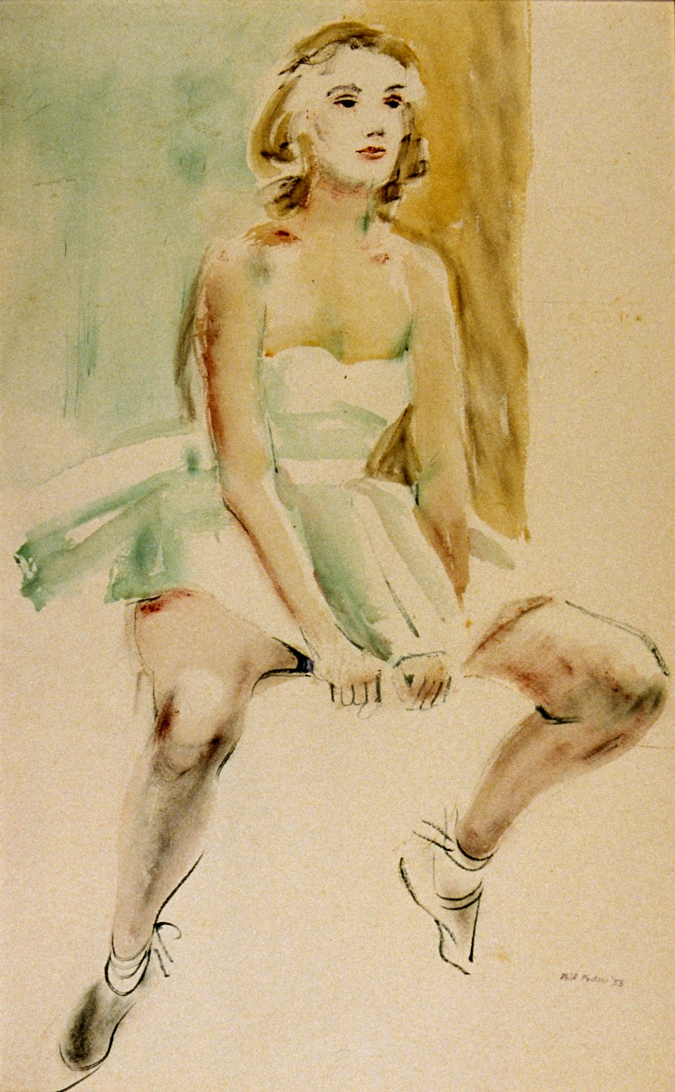 Woman with Short Dress