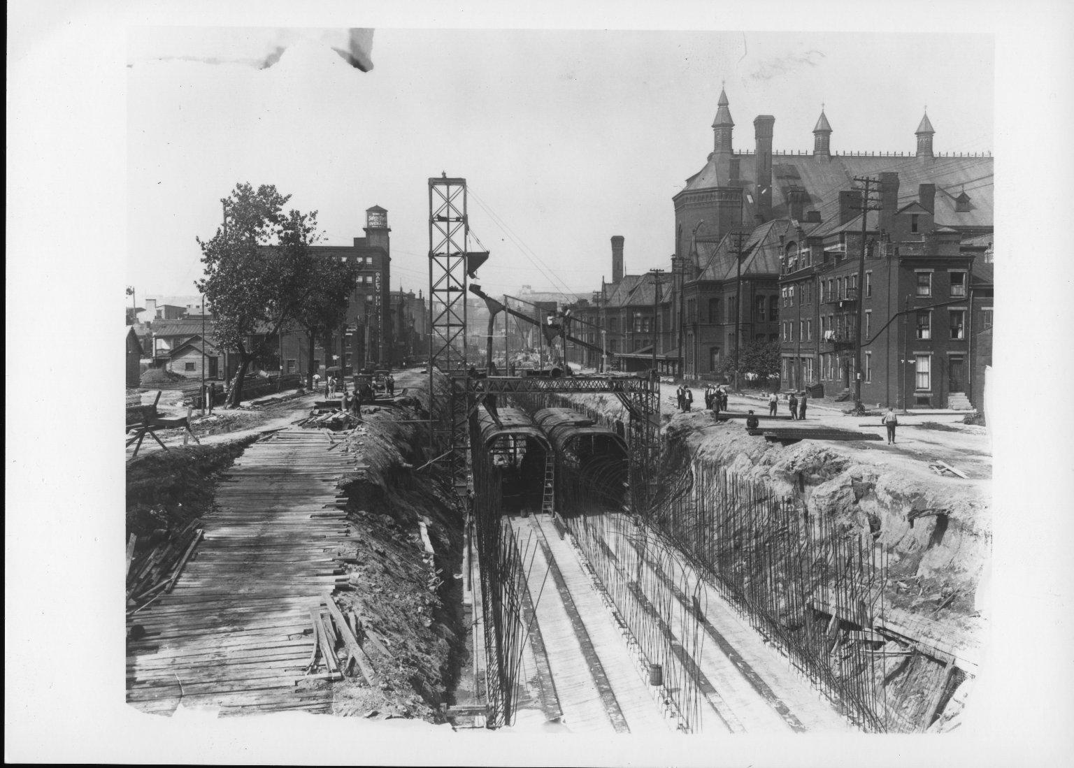 Rapid Transit Photographs -- Box 12, Folder 02 (September 16, 1920 - October 19, 1920) -- print, 1920