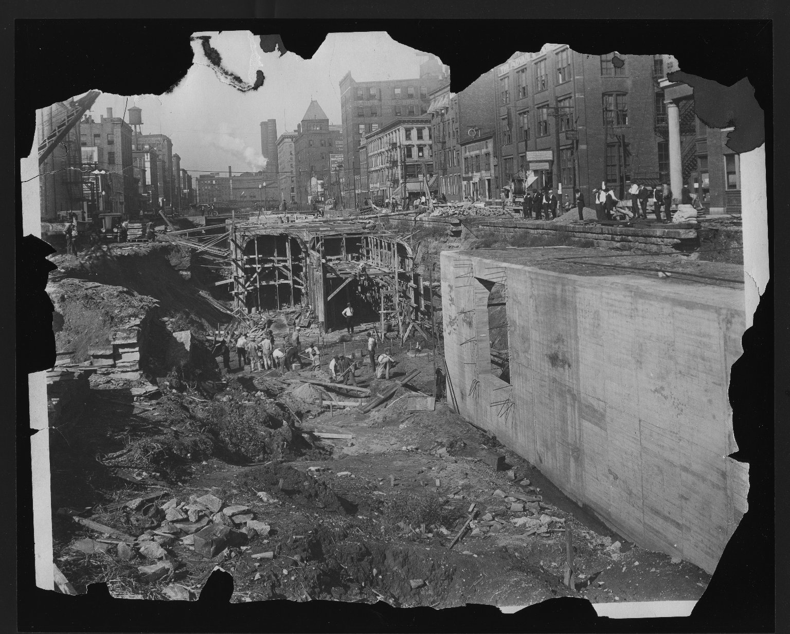 Rapid Transit Photographs -- Box 12, Folder 02 (September 16, 1920 - October 19, 1920) -- print, 1920-09-16, 9:32 A.M.