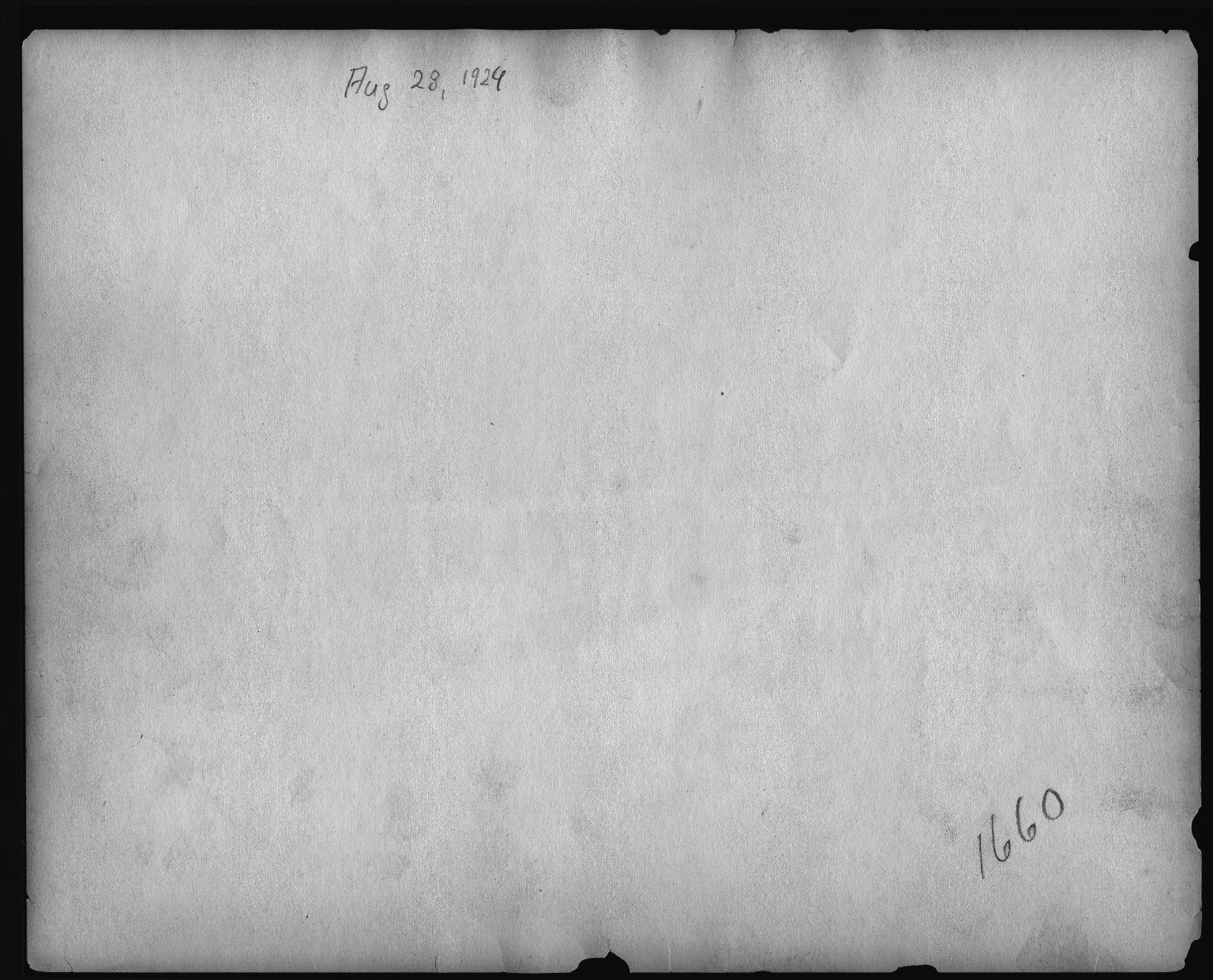 Rapid Transit Photographs -- Box 12, Folder 04 (November 21, 1923 - August 28, 1924) -- print, 1924-08-28 (back of photograph)