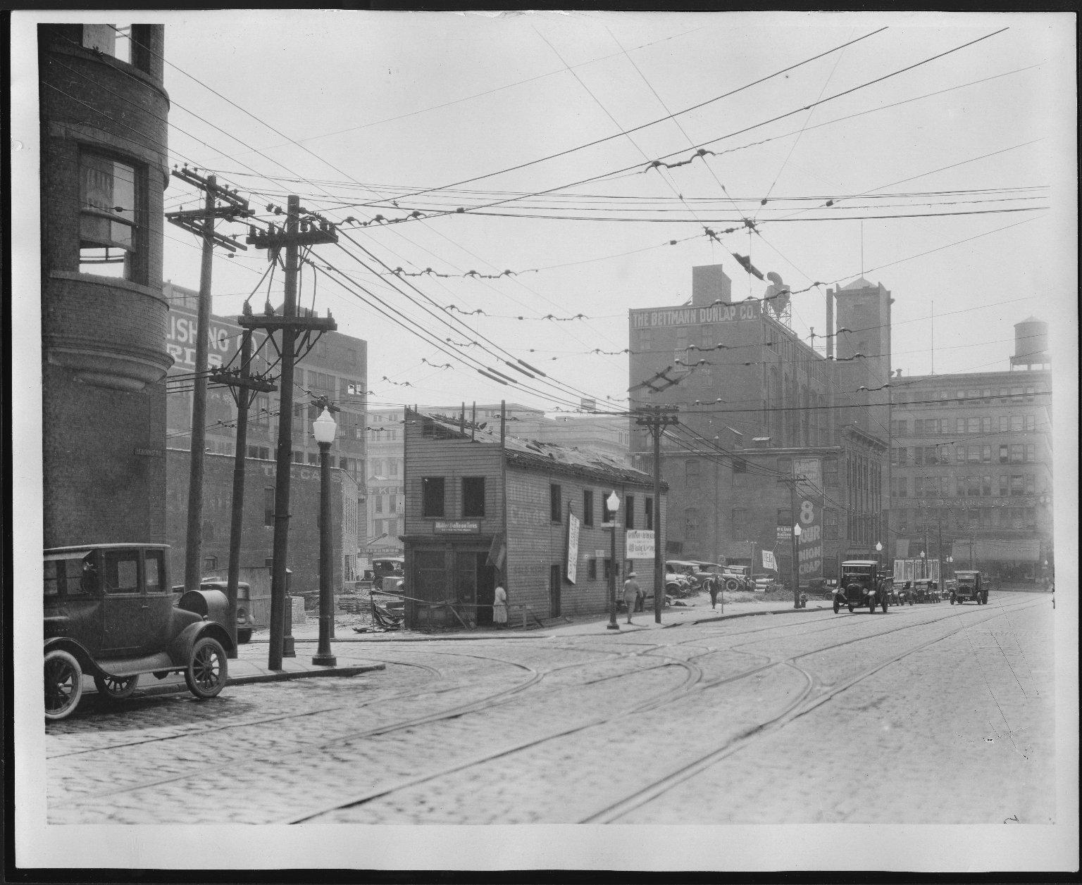 Rapid Transit Photographs -- Box 12, Folder 06 (August 10, 1926 - September 10, 1926) -- print, 1926-08-10, 1:45 P.M.