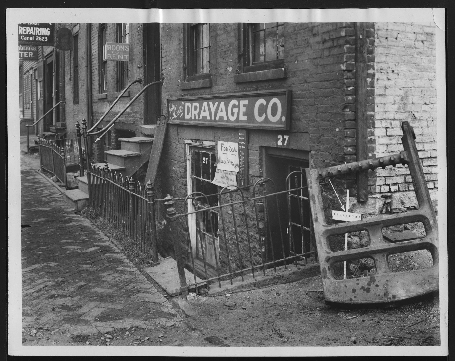 Rapid Transit Photographs -- Box 12, Folder 19 (October 15, 1926 - November 8, 1926) -- print, 1926-10-15, 3:03 P.M.