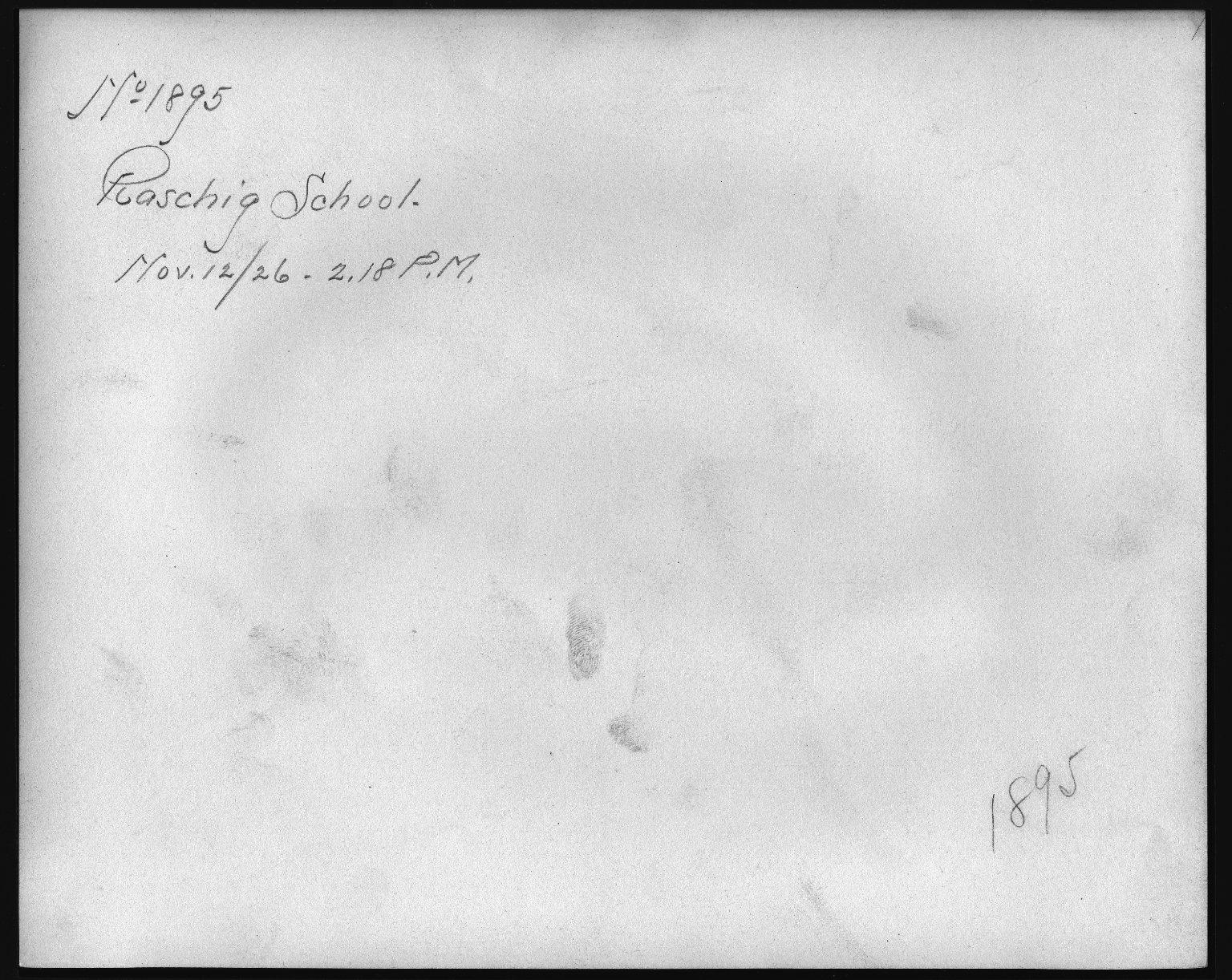 Rapid Transit Photographs -- Box 12, Folder 22 (November 12, 1926) -- print, 1926-11-12, 2:18 P.M. (back of photograph)