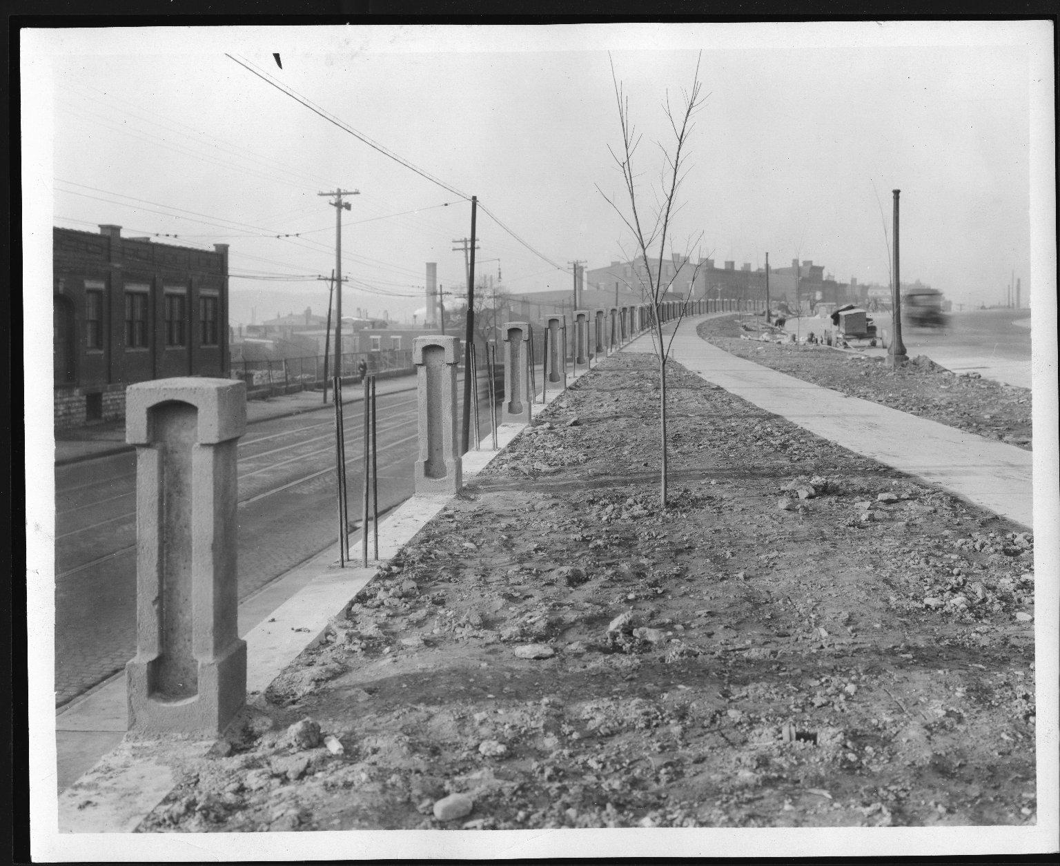 Rapid Transit Photographs -- Box 12, Folder 59 (November 22, 1928) -- print, 1928-11-22, 3:45 P.M.