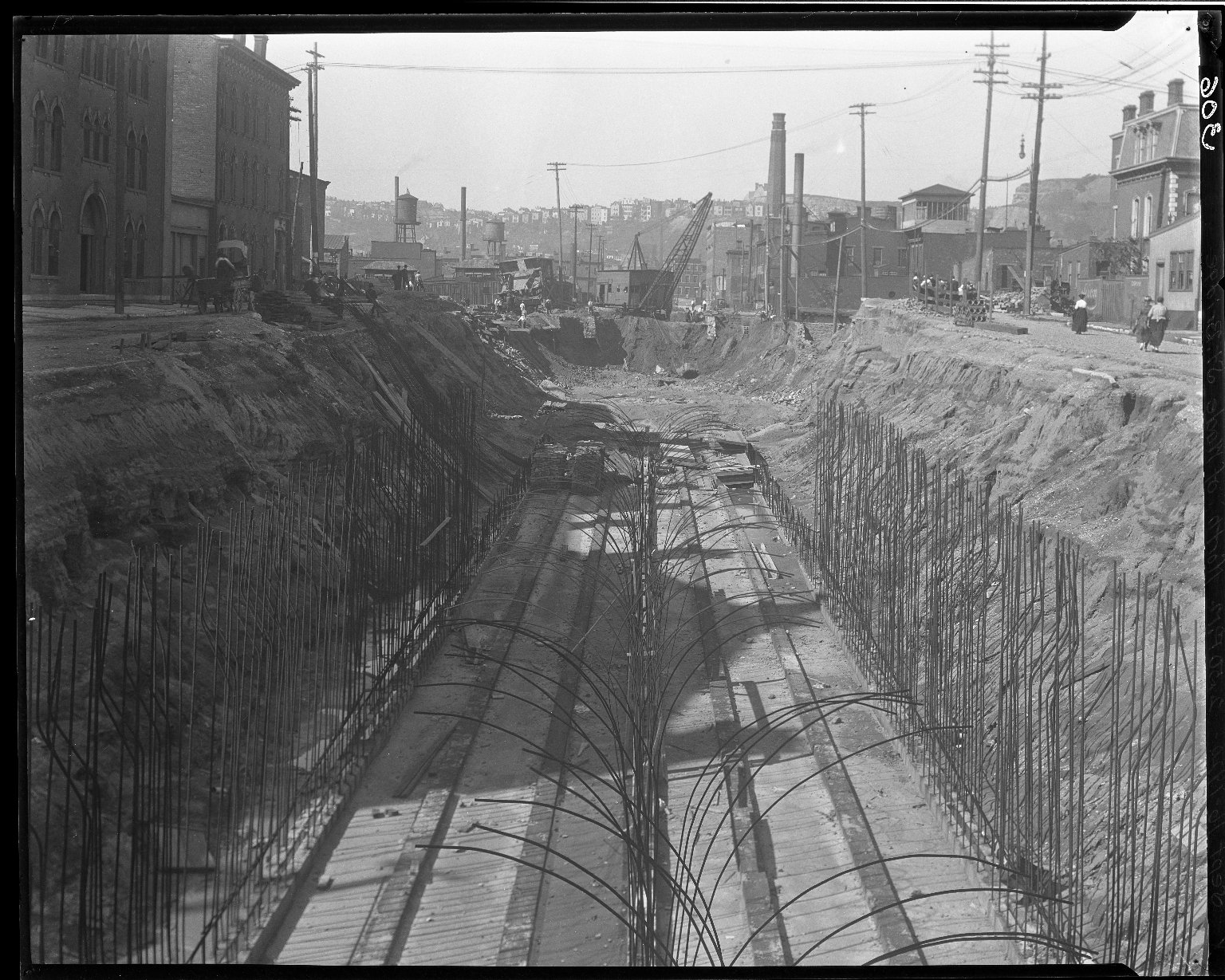 Rapid Transit Photographs -- Box 14, Folder 13 (September 16, 1920 - September 21, 1920) -- negative, 1920-09-16, 2:50 P.M.