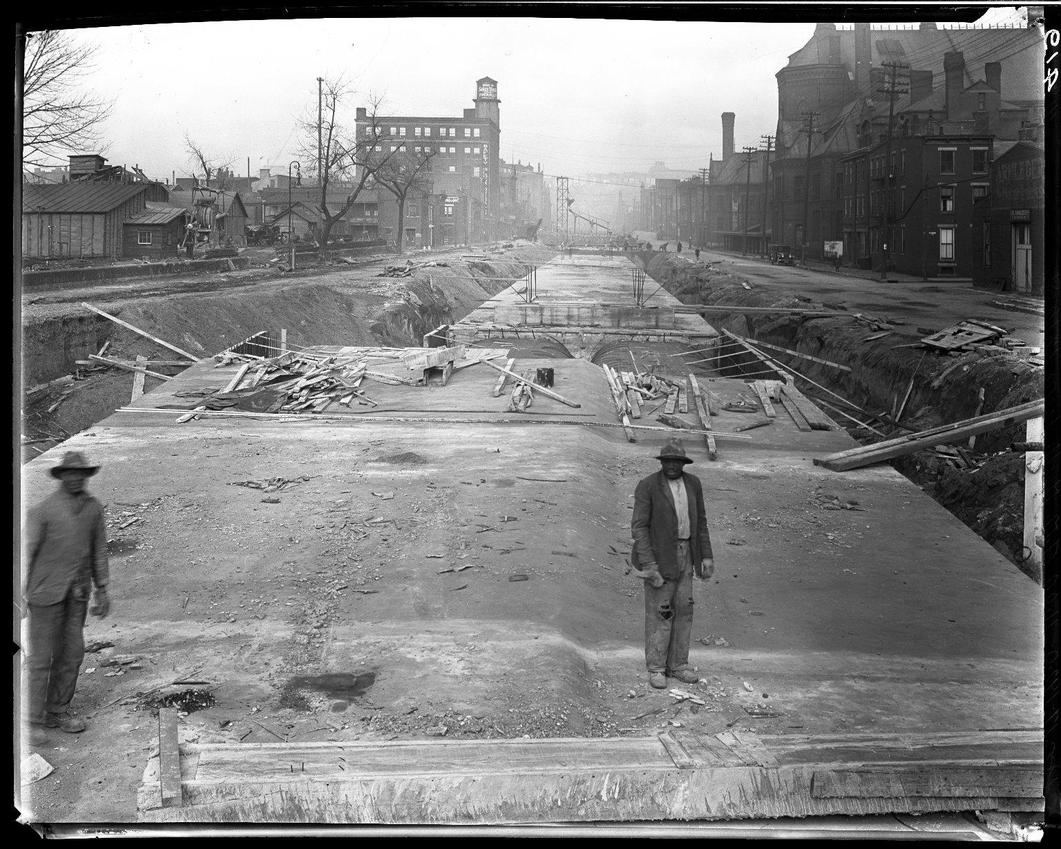 Rapid Transit Photographs -- Box 14, Folder 29 (December 16, 1920 - December 17, 1920) -- negative, 1920-12-17, 11:04 A.M.