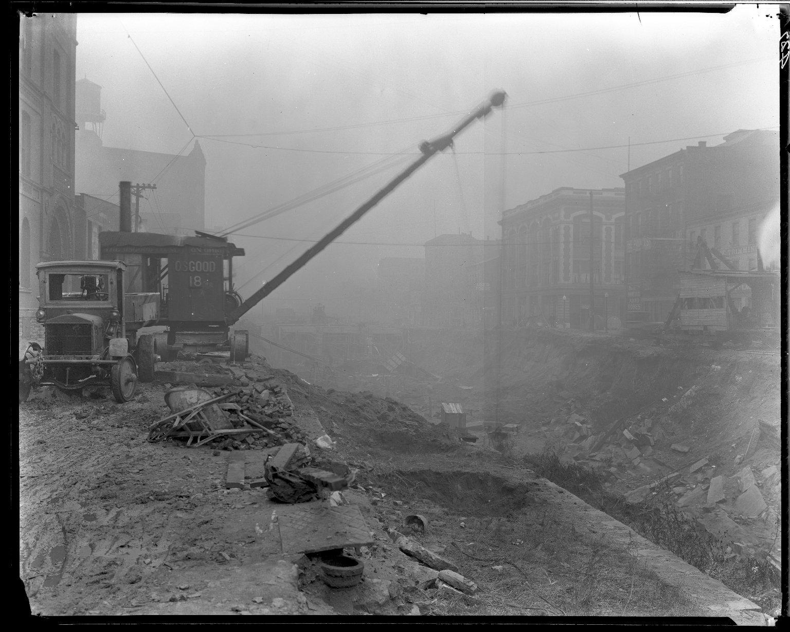 Rapid Transit Photographs -- Box 14, Folder 30 (December 17, 1920 - December 21, 1920) -- negative, 1920-12-21, 10:00 A.M.